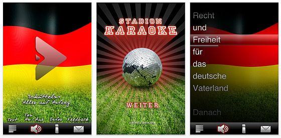 Passend zur WM: Text der Deutschen Nationalhymne zum Mitsingen auf dem iPhone