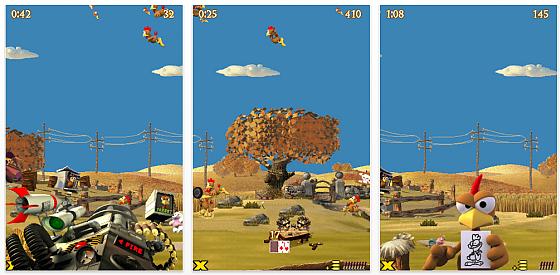 Screenshot Moorhuhn Deluxe für iPhone und iPod Touch