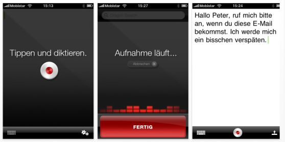 Spracherkennungs-App Dragon Dictation noch kostenlos verfügbar