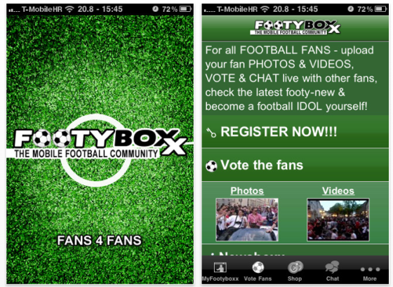Footyboxx Screenshot