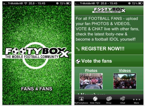 Footyboxx Screenshot