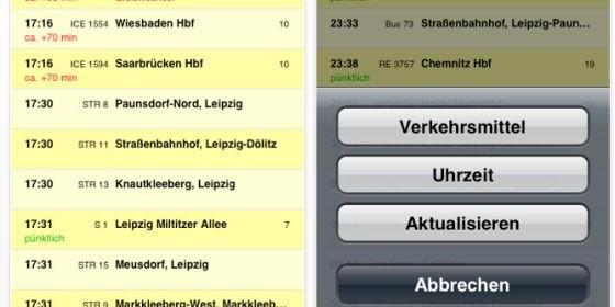 Alle Haltestellen in Deutschland mit der App Fahrplan im Überblick behalten