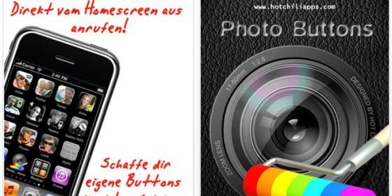 Bringe Deine Freunde mit Foto-Buttons auf den Home-Bildschirm Deines iPhones