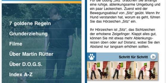 Werde mit der Hundetraining-App zum Hundeprofi wie Martin Rütter