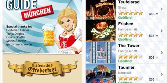 O' zapft is': Mit der kostenlosen Wies'n-App Oktoberfest Guide bestens ausgerüstet für das größte Volksfest der Welt