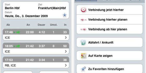 Thank You for travelling with Deutsche Bahn mit dem DB Navigator für Dein iPhone und iPod Touch