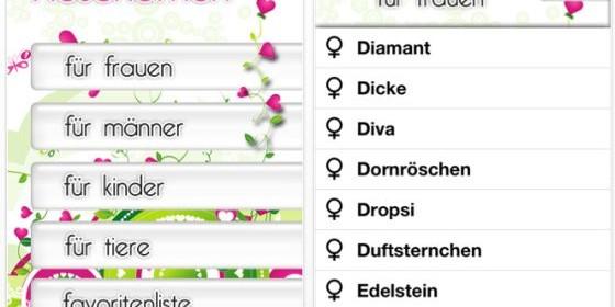 Hole Dir mit Kosenamen die allgegenwärtigsten Spitznamen aus unserem Alltag auf Dein iPhone und iPod Touch