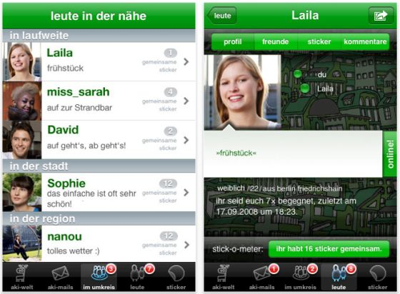 App iphone kennenlernen