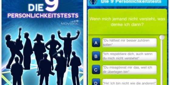 Welcher Persönlichkeitstyp bist Du? Finde es mit der kostenlosen App Die 9 Persönlichkeitstest für Dein iPhone und iPod Touch heraus