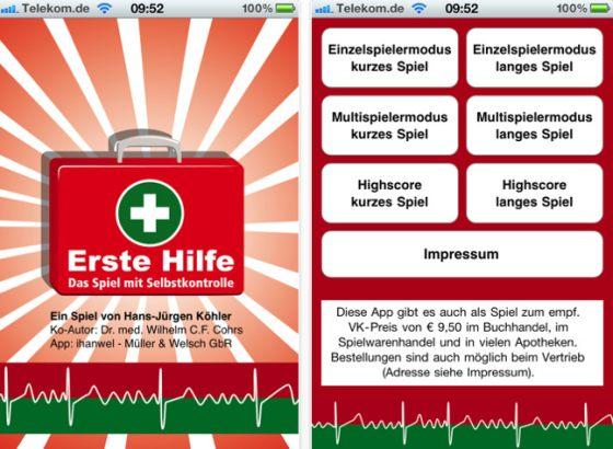Erste Hilfe - das Spiel Screenshot 1