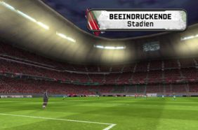 FIFA 11 Screenshot Stadion