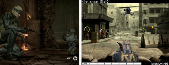Universal-App Metal Gear Solid Touch auf dem iPad