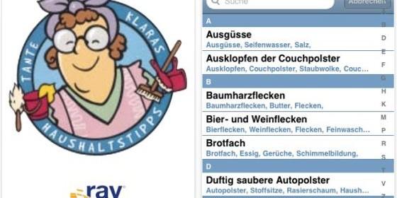 Mit der kostenlosen Haushalttipps-App von Tante Klara das Leben erleichtern