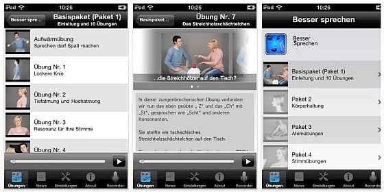 Besser Sprechen 1.0: Der große Sprechkurs für iPhone und iPad