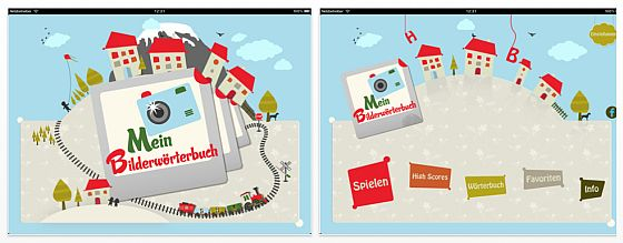 Mit Mein Bilderwörterbuch – 4 Sprachen lernen Kinder spielerisch Fremdsprachen auf dem iPad