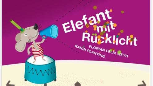 Interaktive Kindergeschichte mit der App Elefant mit Rücklicht für iPhone und iPod Touch