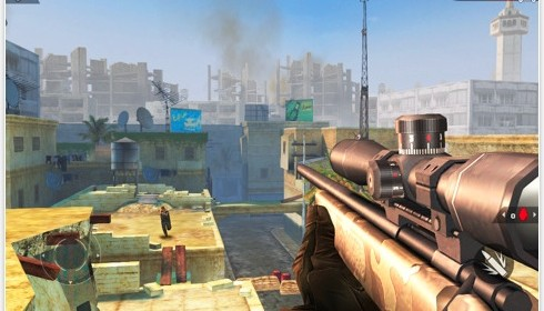 Multiplayer Ego-Shooter Modern Combat 2: Black Pegasus HD für das iPad