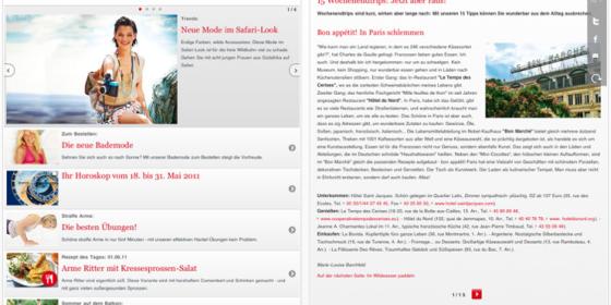 Neue Universal-App von Brigitte.de: Alles was Frauen interessiert in einer App