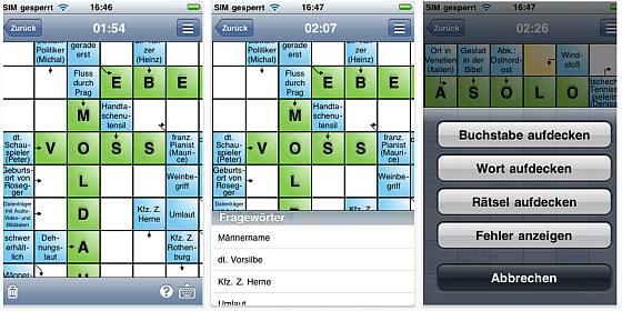 Kreuzworträtsel auf iPhone und iPad knacken – App Schwedenrätsel zum Einführungspreis