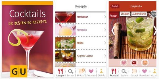 Alle 6 GU Rezepte-Apps von jetzt bis zum Valentinstag auf 79 Cent reduziert