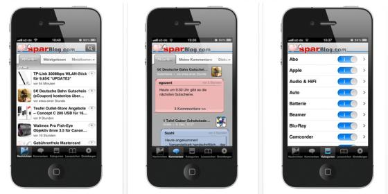 Schnäppchen App – Gratis-App für iPhone, iPad und Android schlägt Alarm, sobald irgendwo Geld zu sparen ist