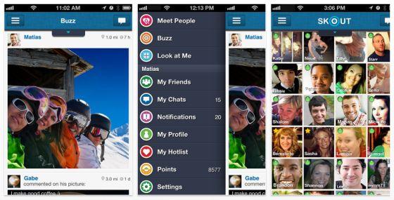 SKOUT - Chat- und Dating-App jetzt auch in Deutschland