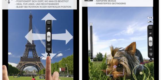 ProCamera HD für das iPad zum Start für nur 2,39 Euro