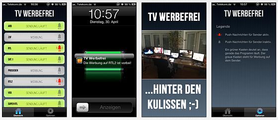App TV Werbefrei Screenmshots