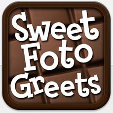 Süße Idee: Per Smartphone einen persönlichen Fotogruß aus Schokolade versenden