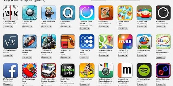 App Store reagiert in der Chartdarstellung verzögert auf Preisanhebungen