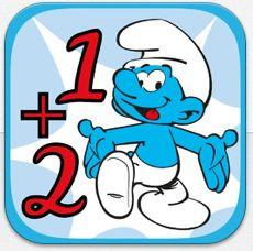 Mathe lernen mit den Schlümpfen: iPhone-App für Grundschüler zum Start nur 1,99 statt 3,59 Euro