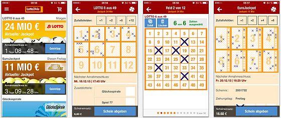Die Lotto24.de App bietet alles, was Du für das Lotto spielen braucht. Die App informiert über Jackpot-Höhen, nimmt Deine Tipps an und gewährt den Zugriff auf Dein Spieler-Konto. Wenn gewünscht, hält die App Dich auch auf dem Laufenden.