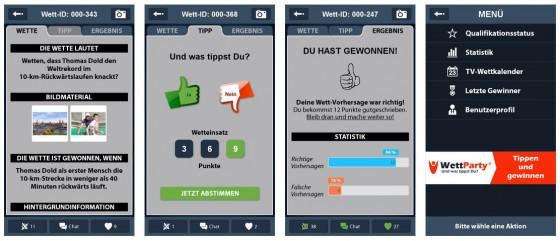 Mit der App Wettparty kannst Du auf iPhone und iPad auf alles Mögliche wetten und dabei neben Punkten auch iTunes Guthaben gewinnen.